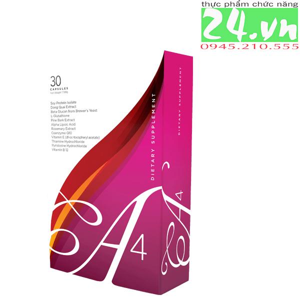 A4 Jeunesse cân bằng nội tiết tố, chống lão hóa