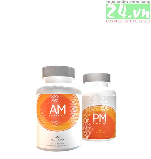 AM/PM JEUNESSE LUMINESCE GLOBAL - Thực phẩm chức năng chống lão hoá cấp độ tế bào