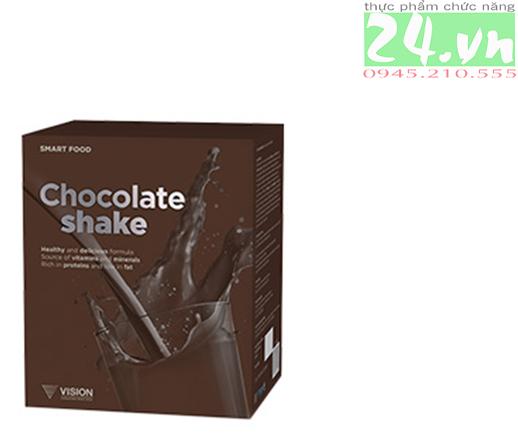 Chocolate Shake VISION Sữa Lắc Vị Sô Cô La (sản phẩm mới) chính hãng giả rẻ