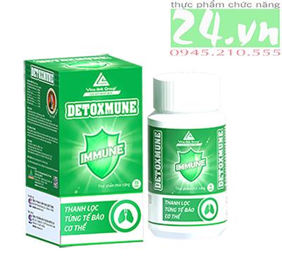Sản phẩm DETOXMUNE Plus của VINA-LINK giúp giải độc cơ thể chính hãng giá rẻ