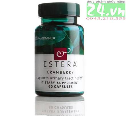 Estera Cranberry - điều trị tiểu buốt ở phụ nữ chính hãng giá rẻ