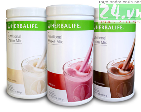 Sữa hỗn hợp dinh dưỡng Herbalife F1