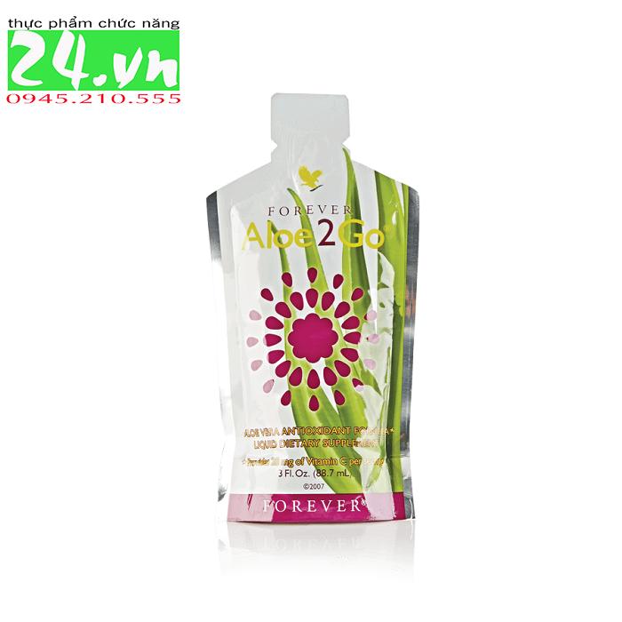 Nước uống dinh dưỡng Forever Aloe2Go mã số 270 Flp