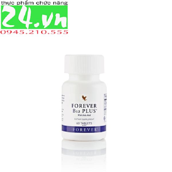 Forever B12 Plus 188 Flp Vitamin B12 & Acid Folic Bổ Máu, Suy Nhược Thần Kinh