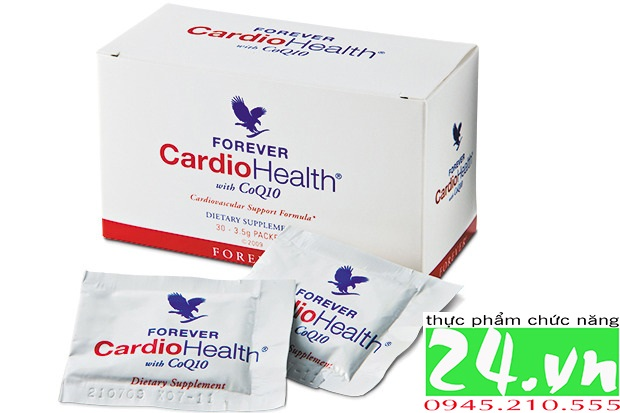 Forever CardioHealth With CoQ10 312 Flp |Hỗ Trợ Tim Mạch