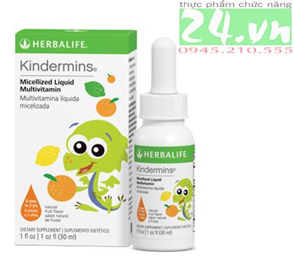Kindermins Herbalife chính hãng giả rẻ