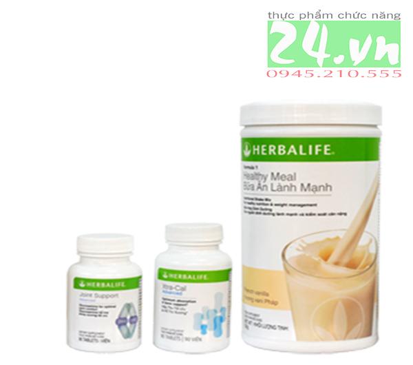 Bộ sản phẩm Herbalife hỗ trợ xương khớp