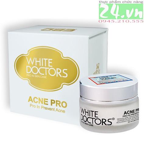 White Doctors Acne Pro - Trị mụn hiệu quả
