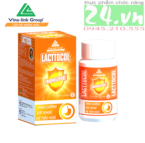 Thực phẩm chức năng LACTTOCOL PLUS của VINA-LINK hỗ trợ đường ruột