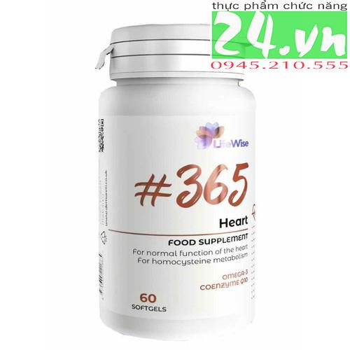 Lifewise heart giúp cải thiện tim mạch và mạch máu