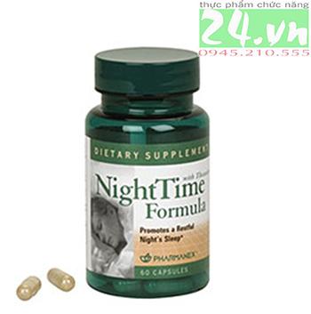 Thực phẩm chức năng Night Time Fomula NuSkin thực phẩm giúp chăm sóc giấc ngủ của bạn