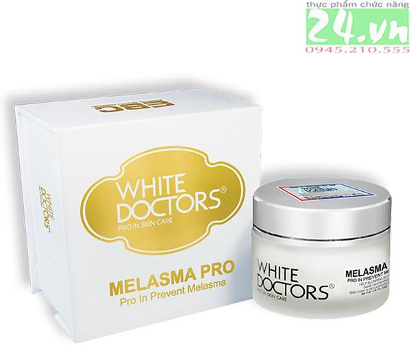 White Doctors Melasma Pro - xóa bay tàn nhang, đồi mồi, đốm nâu chính hãng giá rẻ