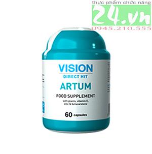 Thực phẩm chức năng  ARTUM của  VISION tăng cường sức khỏe nam giới