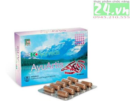 AyuArtis - hỗ trợ giảm đau nhức xương khớp chính hãng giá rẻ