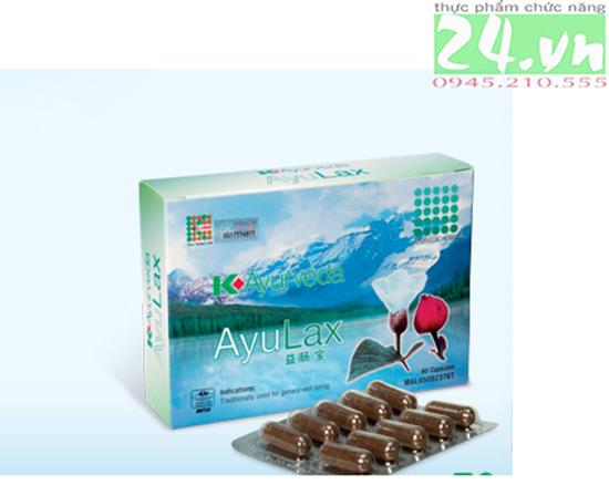 AyULax Klink - điều trị trĩ, táo bón, hỗ trợ hệ tiêu hóa chính hãng giá rẻ