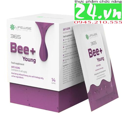Bee+ Young - D4X get Young Vision mẫu mới - Giảm lão hóa, tái tạo tế bào và sức khỏe tổng thể