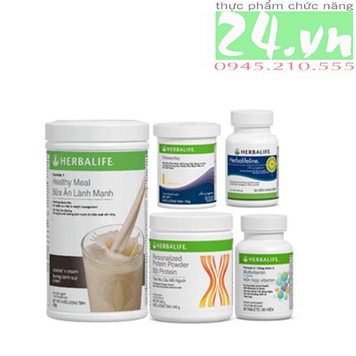 Bộ 5 sản phẩm herbalife hỗ trợ tim mạch chính hãng giá rẻ