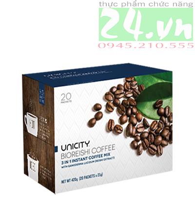 Cà phê linh chi unicity Bio Reishi Coffee giá rẻ