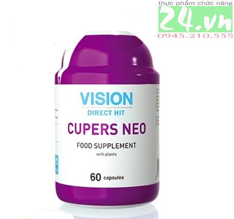 Thực phẩm chức năng  CUPERS NEO của  VISION hỗ trợ gan