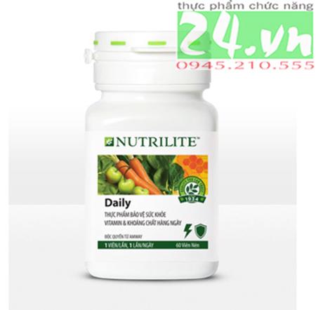 Thực Phẩm Bổ Sung Vitamin Hàng Ngày Daily Amway Nutrilite giá rẻ