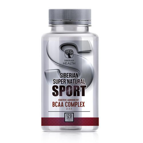 Thực phẩm bảo vệ sức khỏe Siberian supernatural sport BCAA Complex