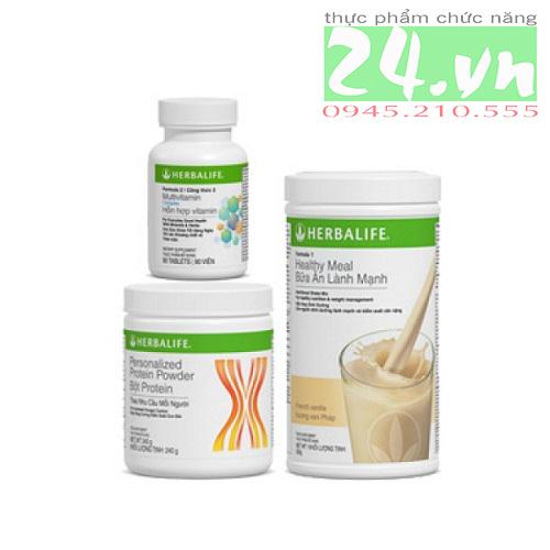 Bộ 3 Herbalife Giảm Cân Cơ Bản