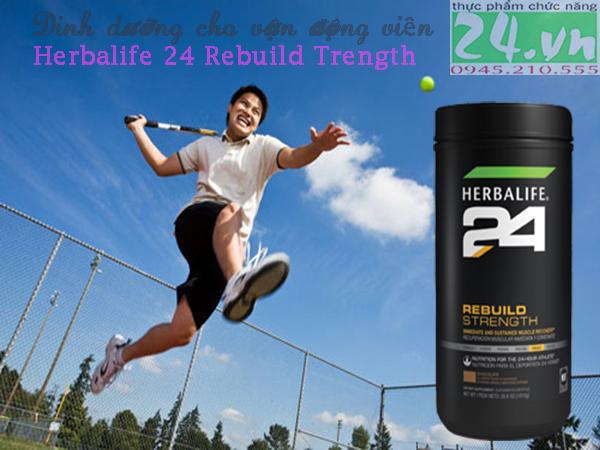 Herbalife 24 Rebuild Trength hương socola - Sản phẩm dinh dưỡng cho vận động viên