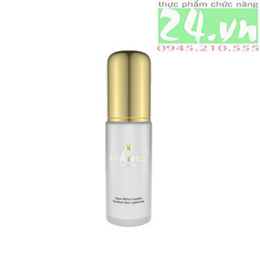 Dưỡng Trắng Da Chống Lão Hóa Ngày Và Đêm Sakura Super White Complex Excellent Skin Lightening