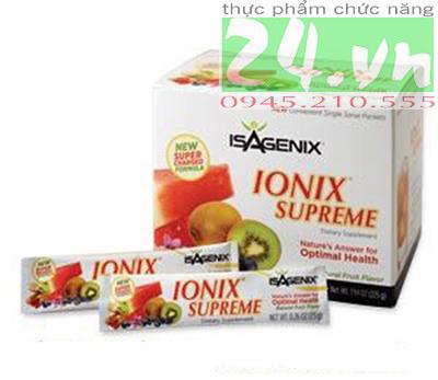 Sản phẩm tăng cường sức đề kháng cơ thể Ionix Supreme Isagenix