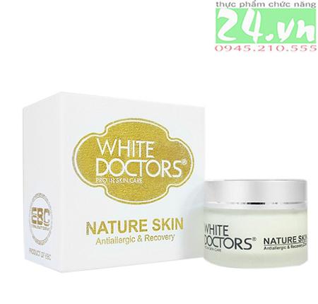 Kem chống dị ứng mỹ phẩm White Doctors Nature Skin