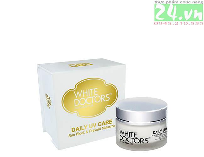 White Doctors Daily UV Care - Kem chống nắng trị nám và tàn nhang chính hãng giá rẻ