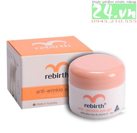 Gel dưỡng ẩm chống nhăn và thâm quầng mắt Rebirth ÚC - Lanopearl