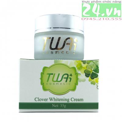 Kem dưỡng trắng và tái tạo da mặt Clover Whitening Cream của Twai