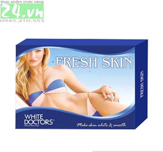 White Doctors Fresh Skin - Kem tẩy tế bào chết làm trắng da chính hãng giá rẻ