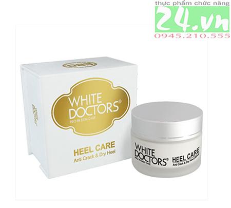 White Doctors Heel Care - Kem trị nứt gót chân hiệu quả
