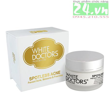 Kem trị thâm do mụn hiệu quả White Doctors Spotless Acne