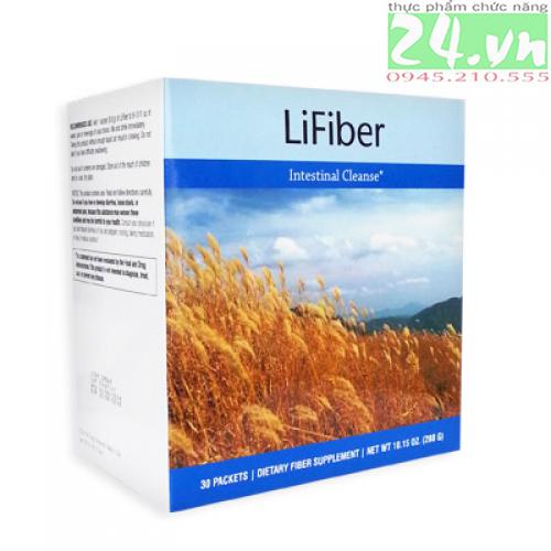 LiFiber - hỗ trợ loại bỏ chất thải đường ruột, chống táo bón chính hãng giá rẻ