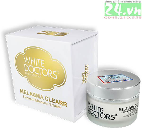 White Doctors Melasma Clearr - Xóa sạch nám, sạm da chính hãng giá rẻ