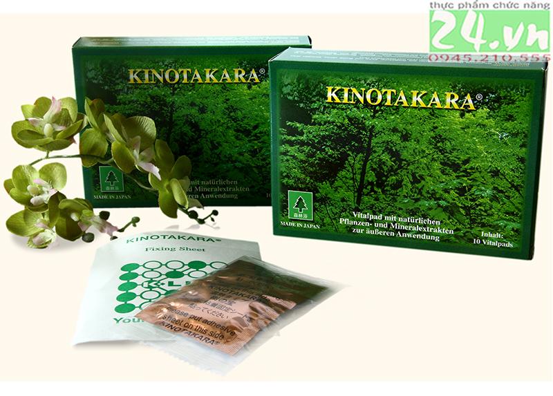 Miếng dán thải độc KINOTAKARA chính hãng giá rẻ