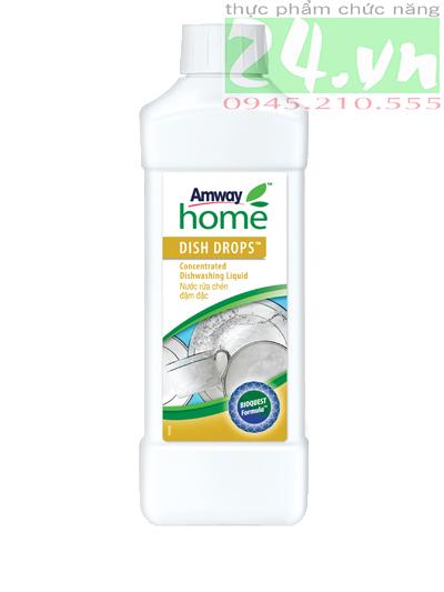 Nước rửa bát amway giá rẻ, nước rửa bát Dish Drops amway chính hãng  1 L
