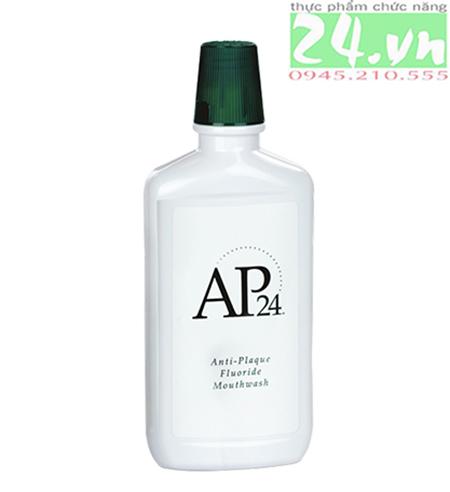 AP-24 Anti-Plaque Fluoride Mouthwash của Nuskin  Nước súc miệng chống mảng bám trên răng, làm sạch m
