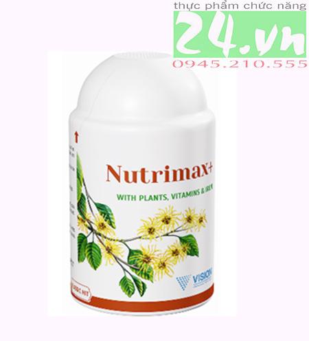 Thực phẩm chức năng  NUTRIMAX+ của VISION chính hãng giá rẻ