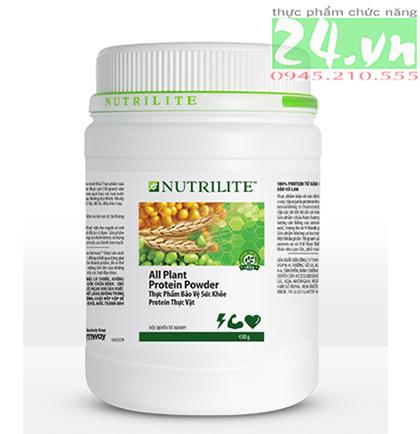 Thực phẩm bổ sung Nutrilite Protein thực vật, protein amway giá rẻ,