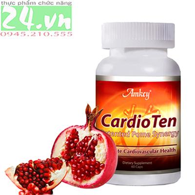 AmKey CardioTen phòng tránh các bệnh tim mạch, huyết áp hiệu quả