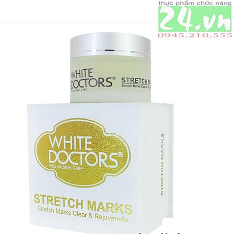 White Doctors Stretch Marks - Kem trị rạn nứt da chính hãng
