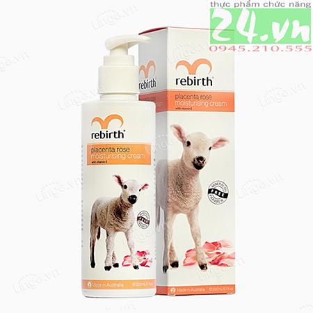 Sữa dưỡng thể nhau thai cừu Rebirth - Lanopearl ÚC