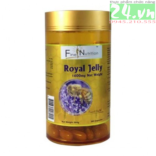 Sữa ong chúa Fine Nutritrion 1600 mg Royal Jelly