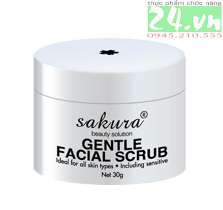 Tẩy Tế Bào Chết Sakura Gentle Facial Scrub