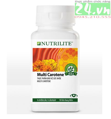 Thực phẩm bổ sung Nutrilite Multi Carotene amway giá rẻ