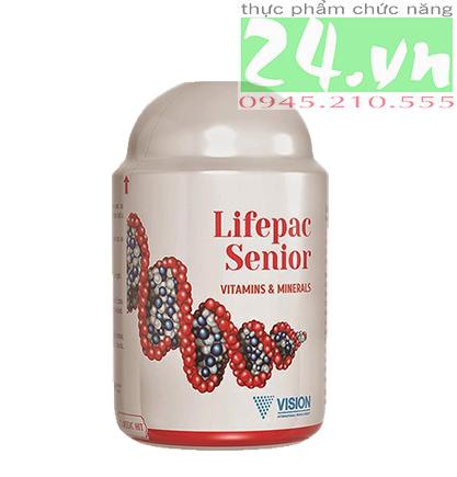 Thực phẩm chức năng  Lifepac Senior của VISION chính hãng giá rẻ